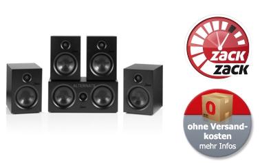 Knaller: SAXX CR 5.0 Set Heimkinosystem für nur 199,90 Euro bei Alternate
