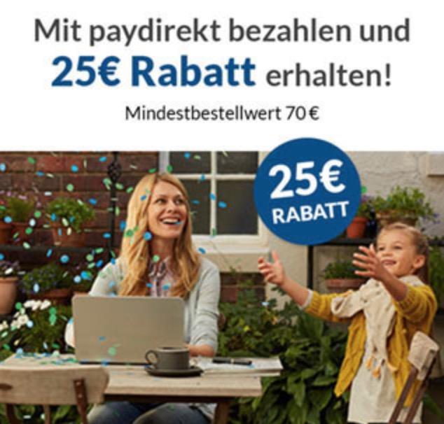 Bei Alternate mit paydirekt zahlen und ab 70,- Euro Bestellwert 25,- Euro sparen
