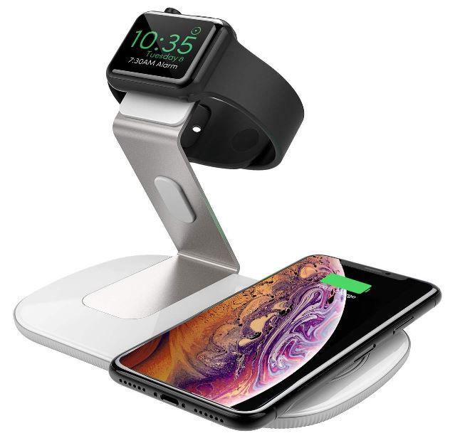 Seneo 2 in 1 Fast Wireless Charger für iPhone und Apple Watch nur 12,99 Euro