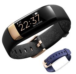 Siroflo Fitness Tracker mit Herzfrequenzmesser und zwei Armbändern für nur 21,44 Euro