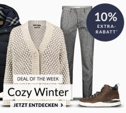 Engelhorn Weekly-Deal mit 10% Rabatt auf Wintermode