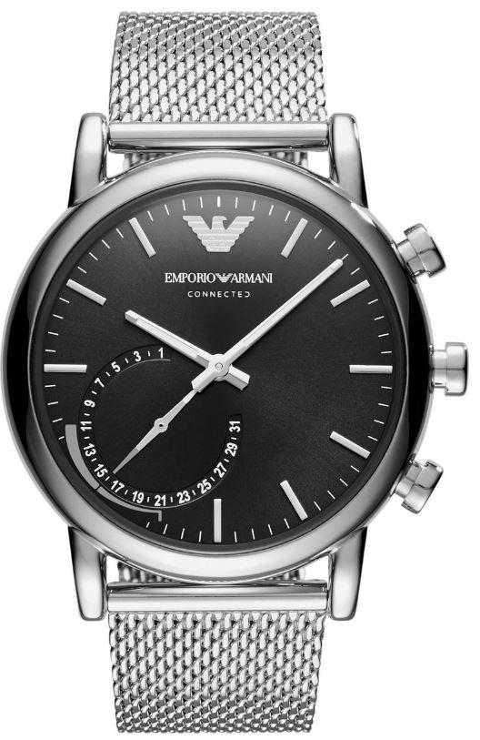 EMPORIO ARMANI Connected Smartwatch (Edelstahl, 200 mm, Silber) für nur 189,- Euro inkl. Versand