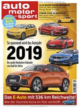 Auto Motor & Sport Jahresabo
