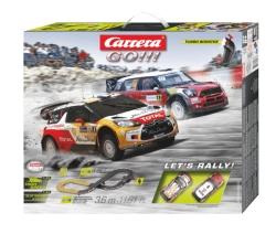Nur bis 9:00 Uhr: CARRERA (TOYS) Let's Rally! Rennbahn für 39,- Euro
