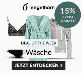 Engelhorn Weekly Deal mit 15% Rabatt auf Wäsche