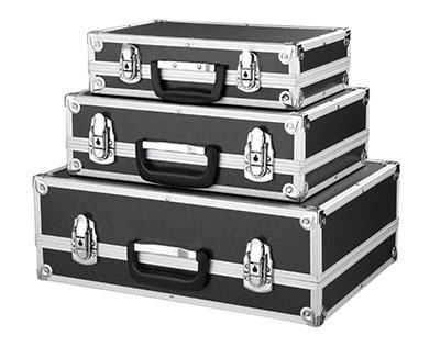 3er-Pack abschließbare iKayaa Transport-Cases für nur 34,27 Euro inkl. Versand aus Deutschland