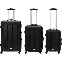 Packenger Travelstar 3er Kofferset in schwarz, weinrot oder mauve für nur 111,- Euro