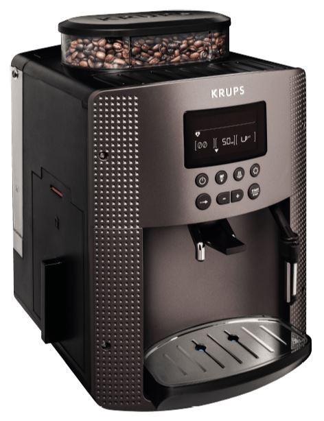 KRUPS EA815P Kaffeevollautomat (1.8 Liter, 15 bar) für nur 200,- Euro bei Zahlung mit PayPal (225,- Euro ohne PayPal)