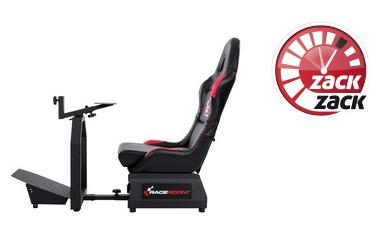 Knaller: RaceRoom Game Seat RR3055 Spielsitz mit Lenkradplatte und Pedalauflage für 205,89 Euro