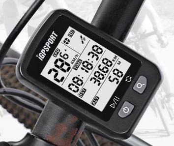 iGPSPORT iGS20E GPS-Fahrradcomputer für 23,88 Euro bei Gearbest