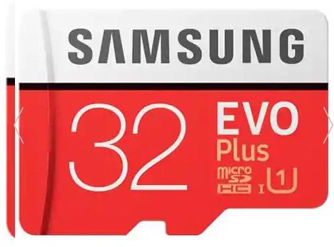 Samsung 32GB Evo Plus MicroSDHC Karte für nur 4,54 Euro