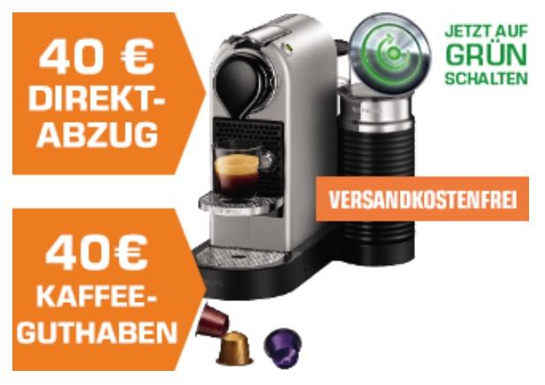 KRUPS XN760B Nespresso New CitiZ&milk Kapselmaschine für nur 99,- Euro