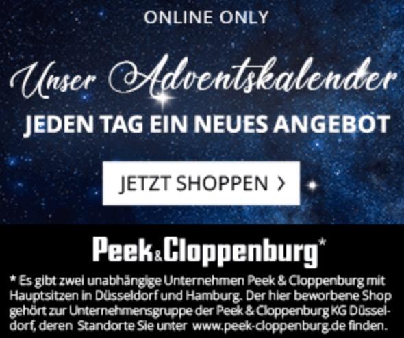 1c1e9de7cb48b8 20% Rabatt auf tausende ausgewählte Artikel bei Peek   Cloppenburg  - Snipz. de