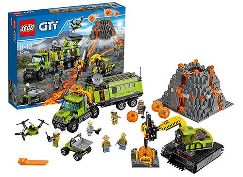 LEGO 60124 City Vulkan-Forscherstation für nur 74,94 Euro inkl. Versand