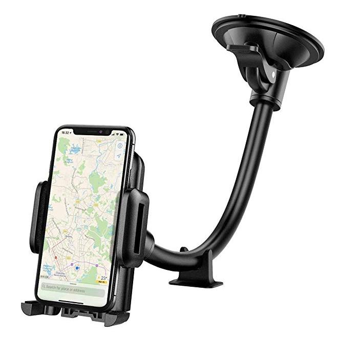 KFZ Handyhalterung für die Windschutzscheibe eures Autos für nur 6,99 Euro