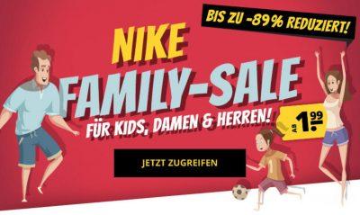 Großer Nike Family Sale bei SportSpar mit Rabatten von bis zu 89%