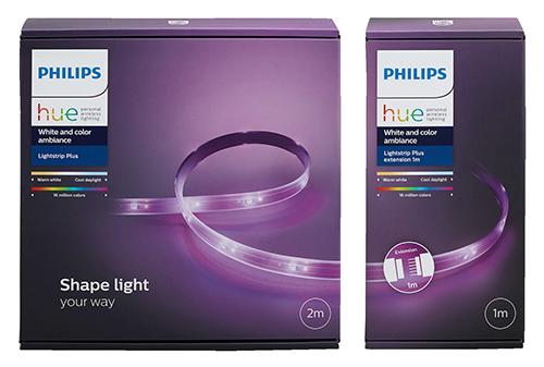 PHILIPS PL24085 Hue Light Strip Plus Basis Set (1x 2m + 1x 1m) für nur 58,48 Euro inkl. Versand
