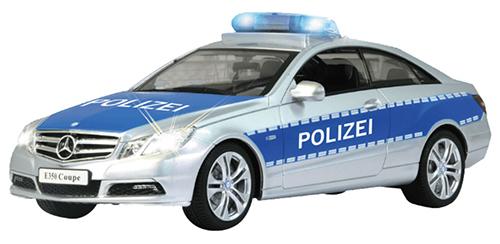 JAMARA 410023 ferngesteuertes Polizeiauto Mercedes E350 Coupe für nur 23,- Euro (statt 30,- Euro)