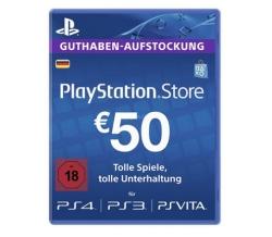 50,- Euro Sony Playstation Network Guthaben für 43,19 Euro
