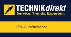 15% Rabatt auf alles von Technikdirekt + 13-fach Superpunkte (mit Club Rakuten) bei Rakuten.de