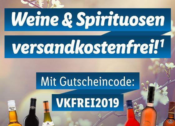 Versandkostenfreie Lieferung bei Spirituosen und Wein bei Lidl ab 29,- Euro Bestellwert