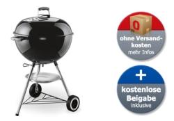 Schnell sein! Weber One-Touch Original 57cm Kugelgrill für nur 129,90 Euro bei Alternate