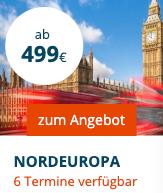 Tage mit AIDAperla - Metropolen ab Hamburg