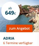 7 Tage mit AIDAblu - Adria ab Venedig