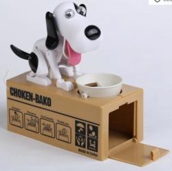 Die hungrige Hunde-Spardose für nur 4,55 Euro inkl. Versand