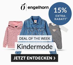 Engelhorn Weekly Deal mit 15% Rabatt auf Kindermode