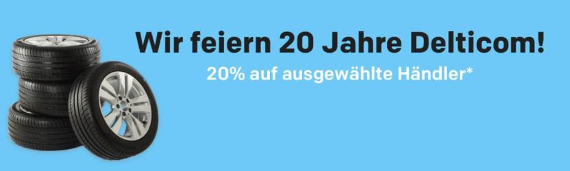 20% Gutscheincode auf Reifen bei Rakuten.de und 5-fache Superpunkte