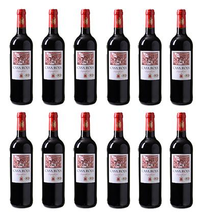 12er-Pack Casa Roja Tempranillo Rotwein für nur 39,96 Euro inkl. Lieferung