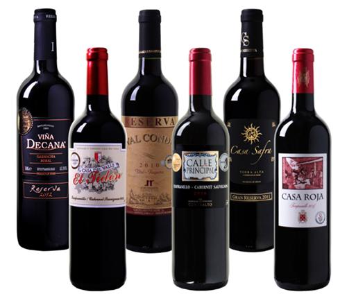 Weinvorteil: Probierpaket mit 6 prämierten Rotwein Bestsellern für nur 35,94 Euro inkl. Versand