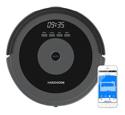 MEDION Saugroboter MD 17225 mit intelligenter Lasernavigation für nur 299,95 Euro inkl. Versand
