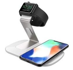 Seneo 2-in-1 Wireless Fast Charger für Applewatch und iPhone für nur 16,99 Euro