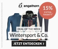 Engelhorn Weekly Deal mit 15% Rabatt auf Wintersport und Outdoor