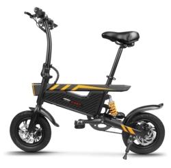 Faltbares E-Bike Ziyoujiguang T18 mit 12″ Bereifung und 250W Motor für nur 328,14 Euro