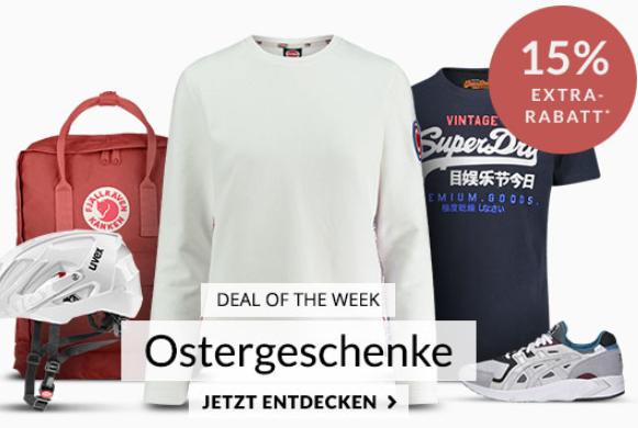 Engelhorn Sport Weekly Deal: 15% Rabatt auf ausgewählte Osterhighlights