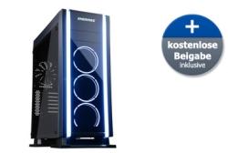 Enermax Saberay Tower-Gehäuse mit Gratis Enermax Tankstand Monitorständer für 105,89 Euro