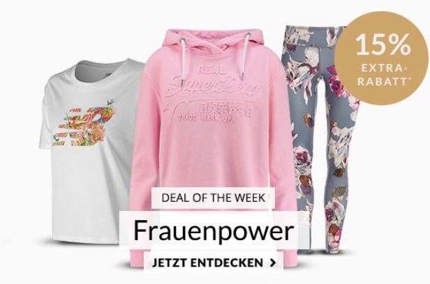 Engelhorn Sports Weekly Deal: 15% auf viele Sportartikel für Damen