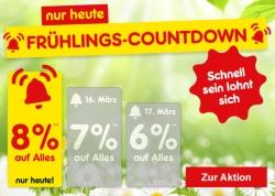 Nur heute: Frühlingscountdown im Netto-Onlineshop mit 8% Rabatt auf Alles!