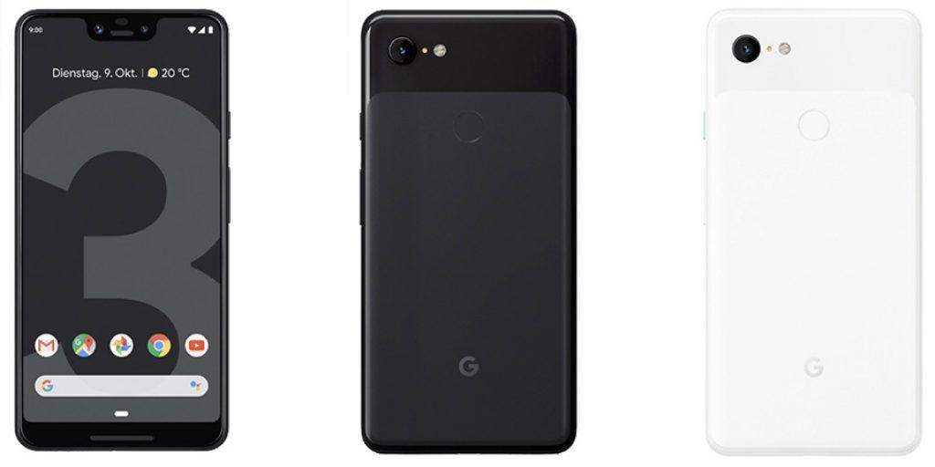 google pixel 3 xl Ansicht