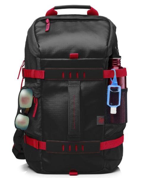 HP 15.6 Zoll Odyssey-Rucksack in schwarz/rot nur 15,99 Euro inkl. Versand