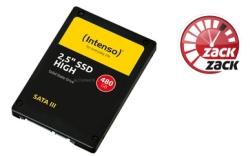 Intenso High Performance 480 GB Solid State Drive für 45,89 Euro