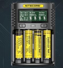 NITECORE UM4 Intelligent USB Batterieladegerät für nur 19,80 Euro bei Gearbest