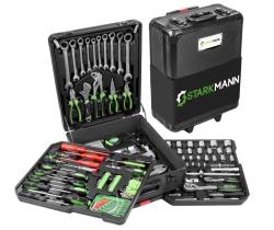 Starkmann Blackline Werkzeugkoffer 399-teilig für nur 89,99 Euro inkl. Versand