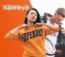 Sale mit Mode und Accessoires der Marke Superdry bei Vente-Privee