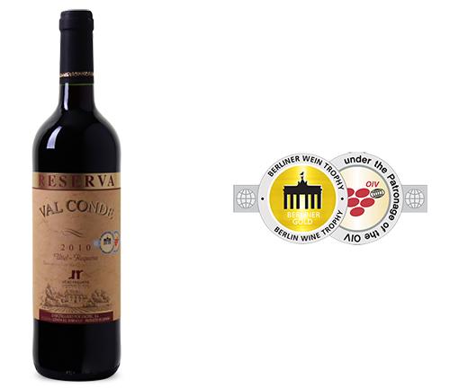 Geht noch! 12er-Paket 2010er Val Conde Reserva Utiel-Requena DO für nur 45,- Euro inkl. Lieferung