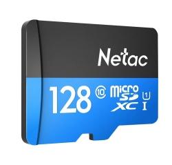 Netac P500 Class 10 128G Micro SDXC Speicherkarte mit bis zu 80MB/Sekunde für 18,33 Euro