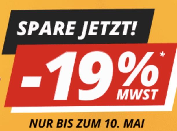 19% MWST Rabatt auf das gesamte Sortiment bei Druckerzubehör + 3 Gratisartikel